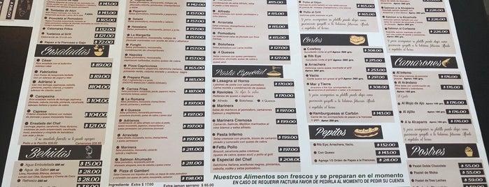 Adriano's is one of สถานที่ที่บันทึกไว้ของ Fabiola.