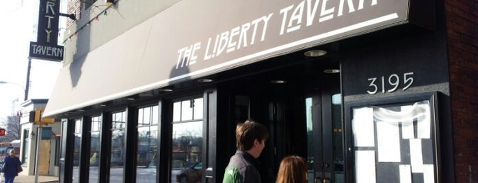 The Liberty Tavern is one of DC To-Do.