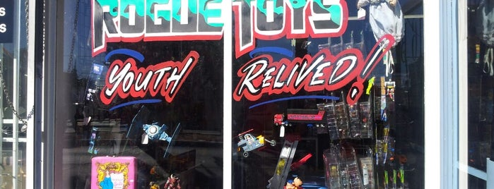 Rogue Toys is one of Vegas.