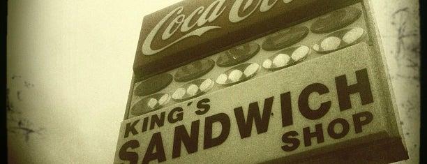 King's Sandwich Shop is one of Get in my belly.