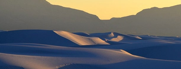 White Sands National Park is one of Arizona/New Mexico.