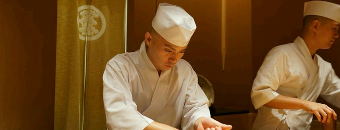 Sushi Saito is one of Tokyo Sushi.