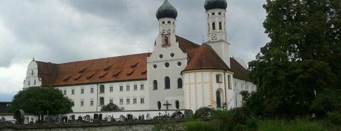 Kloster Benediktbeuern is one of Ausflüge.