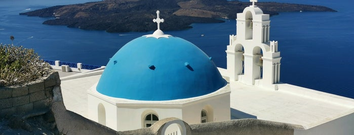 Three Bells of Fira is one of Mega big things to do list.