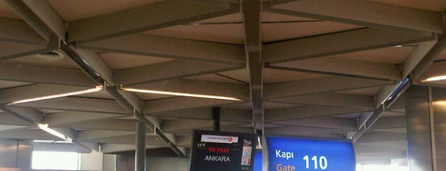 Gate 110 is one of İstanbul Atatürk Airport.