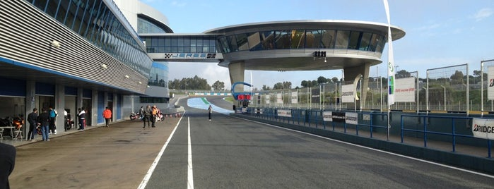Circuito de Jerez is one of Andalucia.