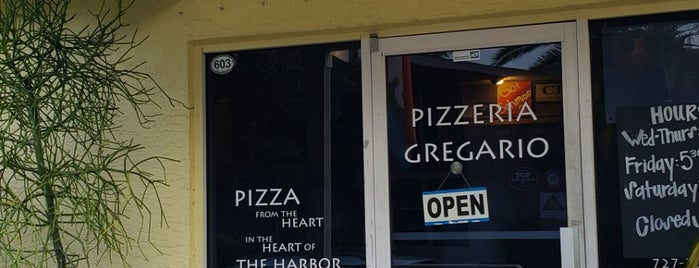 Pizzeria Gregario is one of Clearwater.