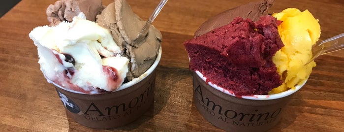 Amorino Gelato is one of Dana 님이 좋아한 장소.