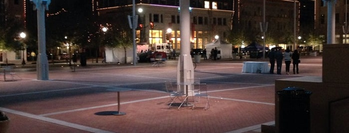 Sundance Square is one of Dallas-Fort Worth.