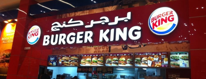 Burger King is one of Dubai Food 7.
