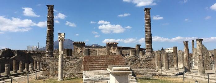 Tempio di Apollo is one of Pompeia.