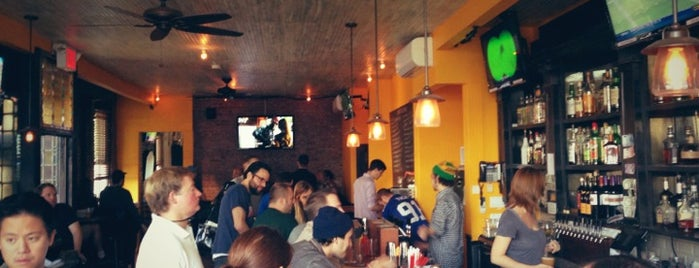 The Kent Ale House is one of NYC Footy Bars.