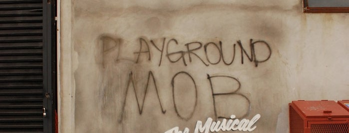 Banksy :: #4 Playground Mob The Musical is one of DPKG.