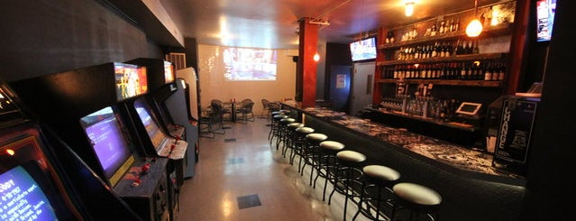 Two-Bit's Retro Arcade is one of USA NYC Favorite Bars.