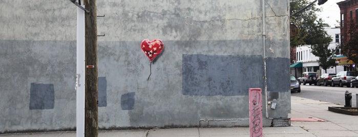 Banksy :: #7 Broken Heart is one of NYC Arts.