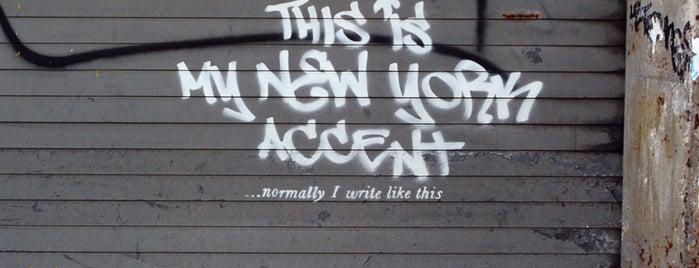 Banksy :: #2 Westside is one of feeling.
