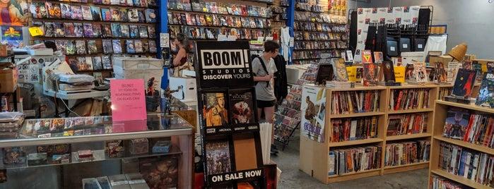 Amalgam Comics & Coffeehouse is one of Tempat yang Disimpan Queen.