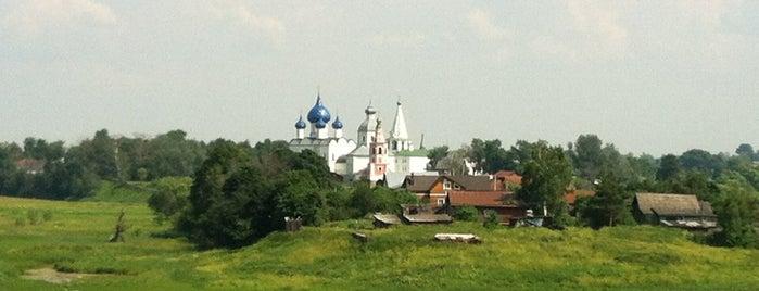 Смотровая площадка на Ильинском лугу is one of Суздаль июнь 2016.