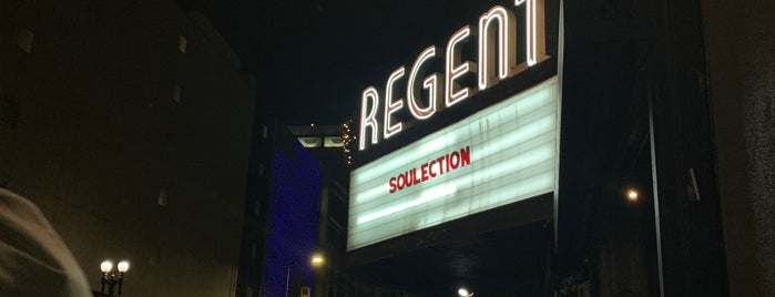 The Regent Theater is one of SFLA.