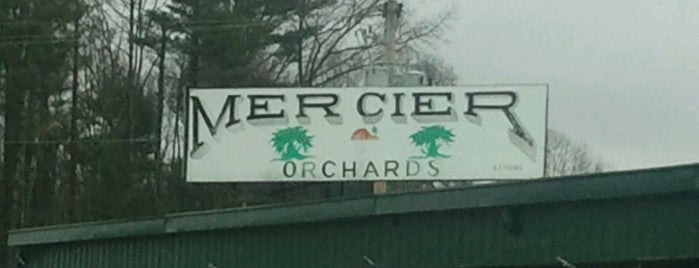 Mercier Orchards is one of Tempat yang Disimpan Mary.