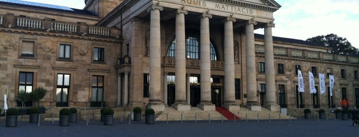 Kurhaus is one of A local's guide: 48 hours in Wiesbaden.