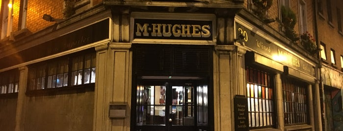 Hughes' Pub is one of Irlanda.