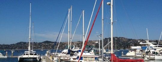Schoonmaker Point Marina (Kayak Beach) is one of USA - California - Bay Area.