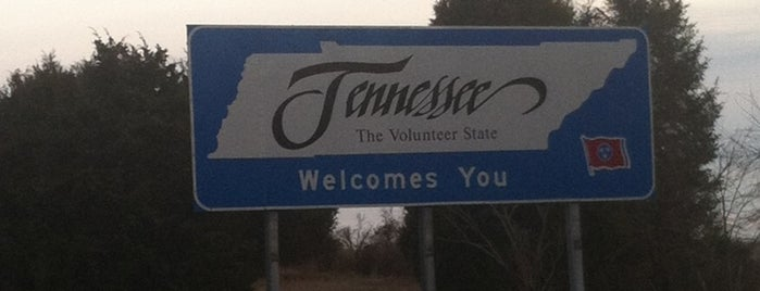 Tennessee Welcome Center — I-24E is one of Orte, die Yunus gefallen.