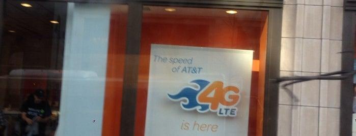 AT&T is one of Tempat yang Disukai Geraldine  🤡😻😆💋👋.