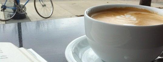 Brewed Cafe is one of สถานที่ที่บันทึกไว้ของ Sarah.