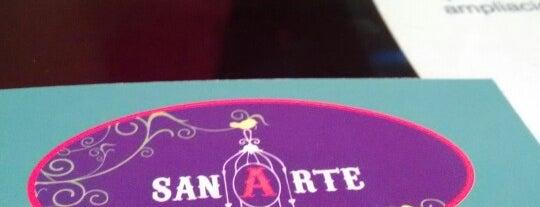 sanArte is one of Ximena'nın Beğendiği Mekanlar.