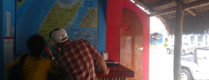 Ernesto's Fajitas Factory is one of Cozumel.