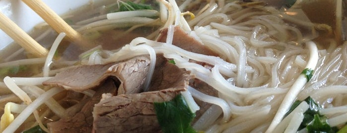 Pho Saigon is one of To Try.