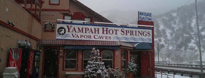 Yampah Vapor Caves is one of Colorado Roadtrip.