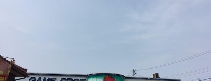 ゲームスポット アップル 魚津 is one of PASELIチャージャー設置店舗@北陸三県.