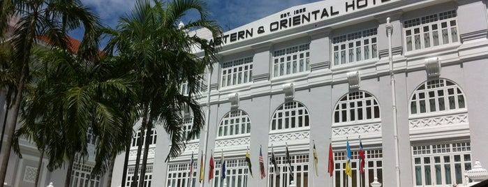 Eastern & Oriental (E&O) Hotel is one of Penang.