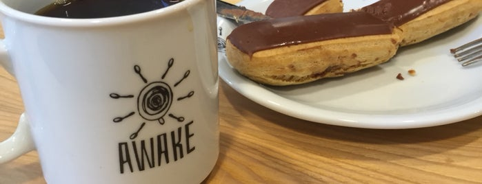 Awake Coffee & Espresso is one of İZMİR EATING AND DRINKING GUIDE.