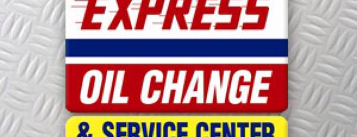 Express Oil Change & Tire Engineers is one of Bry's Liked Places.