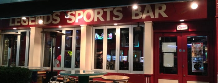 Legends Sports Bar & Grill is one of Jp Reccos.