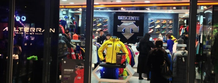descente is one of Korea.