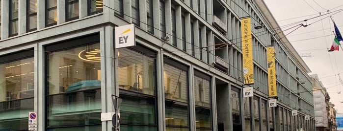 Ernst & Young is one of Locais curtidos por Federica.