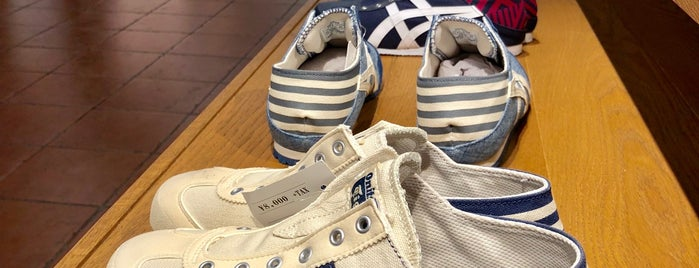 Onitsuka Tiger is one of Shops Tokyo.