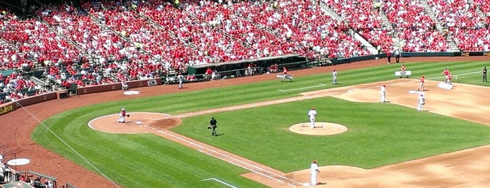 Busch Stadium is one of MLB Stadium.