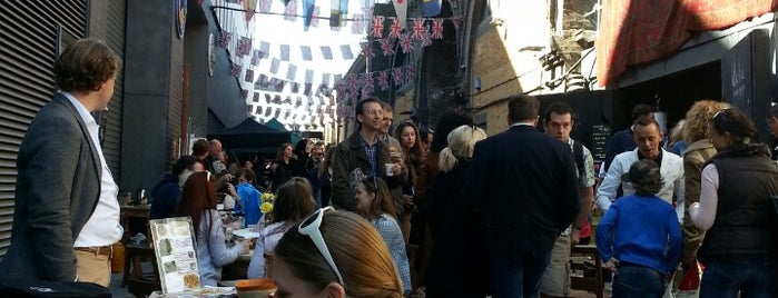 Maltby Street Market is one of London - Brunch.
