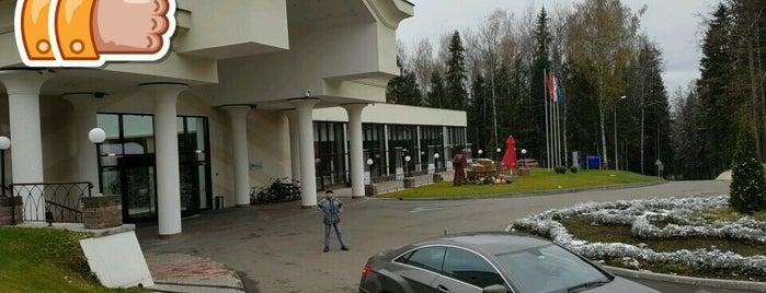 Hilton Garden Inn is one of สถานที่ที่ Dmitry ถูกใจ.