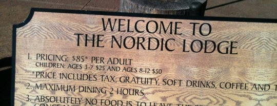 Nordic Lodge is one of Tempat yang Disimpan Angelica.
