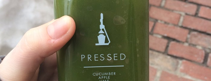 PRESSED is one of Healthy Boston.
