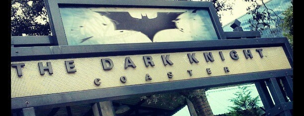 The Dark Knight Coaster is one of Felipe 님이 좋아한 장소.