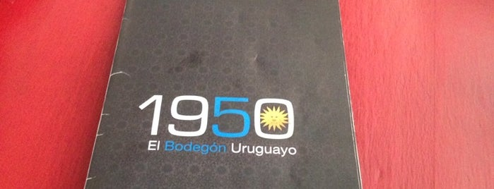 1950 El Bodegón Uruguayo is one of Por Visitar.