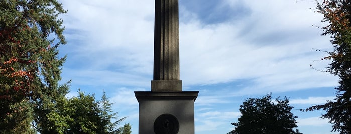 Lewis & Clark Column is one of Portland.